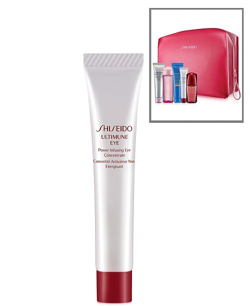 Shiseido Receive a FREE Ultimune Eye Deluxe Sample with Your 6pc Skincare Bonus!