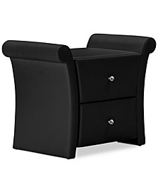 Valente Nightstand, Quick Ship