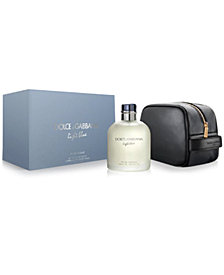 DOLCE&GABBANA Men's 2-Pc. Light Blue Pour Homme Travel Set