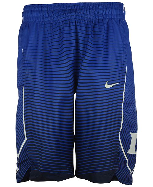 aaee3111722 ... Nike Men s Duke Blue Devils Authentic Hyper Elite Basketball Shorts ...