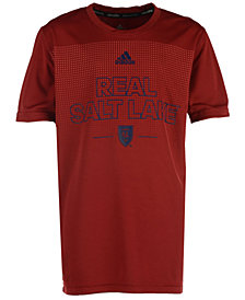 adidas Real Salt Lake Club Authentic T-Shirt, Big Boys (8-20)