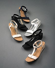 Women's Wedge Sandal Collection, Created for Macy's