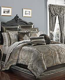 J Queen New York Bridgeport  Queen 4-Pc. Comforter Set