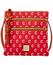 Dooney & Bourke Triple Zip Crossbody Bag MLB Collection