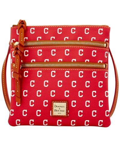 Dooney & Bourke Triple Zip Crossbody Bag MLB Collection