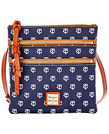 Dooney & Bourke Minnesota Twins Triple Zip Crossbody Bag