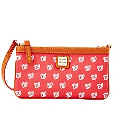 Dooney & Bourke Washington Nationals Large Slim Wristlet