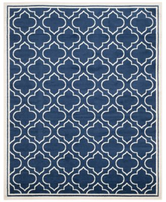 Safavieh Amherst Indoor/Outdoor AMT412 9u0027 X 12u0027 Area Rug