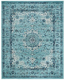 CLOSEOUT! Evoke EVK220E Light Blue Area Rugs