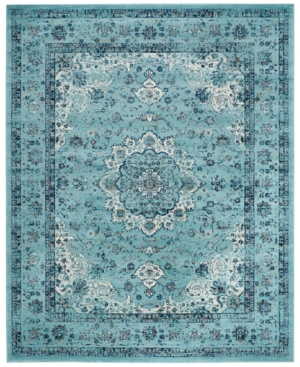 Safavieh Evoke EVK220E Light Blue 4' x 6' Area Rug