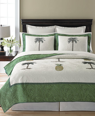 Martha Stewart Collection Pineapple Tropic Quilts  Created for   Martha Stewart Collection Pineapple Tropic Quilts  Created for Macy s    Quilts   Bedspreads   Bed   Bath   Macy s. Bedroom Quilts. Home Design Ideas