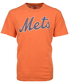 '47 Brand Men's New York Mets Scrum Logo T-Shirt