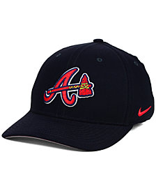 Nike Atlanta Braves Ligature Swoosh Flex Cap