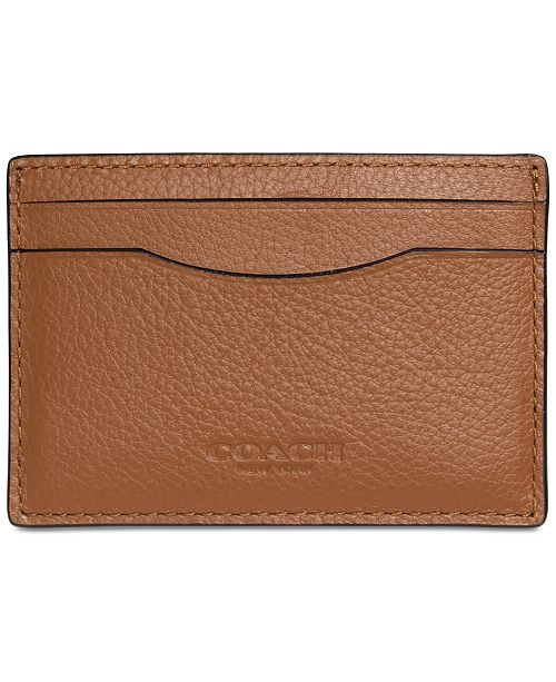112af14f90 COACH Men's Boxed Card Case in Leather & Reviews - Handbags ...