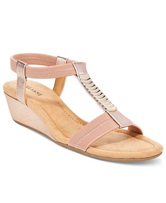 alfani s vacay wedge sandals only at macy s