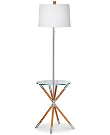 CLOSEOUT! home by Pacific Coast Providence Floor Lamp with Tray Table