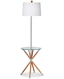 CLOSEOUT! kathy ireland home by Pacific Coast Providence Floor Lamp with Tray Table
