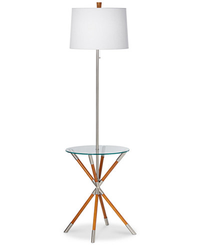 Closeout kathy ireland home by pacific coast providence floor lamp closeout kathy ireland home by pacific coast providence floor lamp with tray table mozeypictures Choice Image