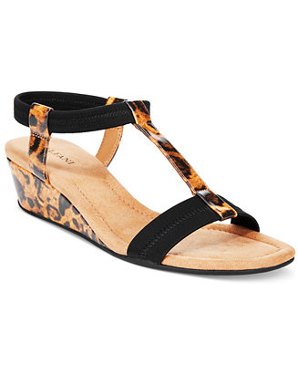 Alfani Women's Voyage Wedge Sandals, Only at Macy's - Sandals - Shoes - Macy's