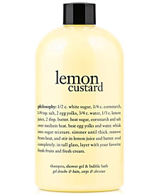 Philosophy Lemon Custard Shower Gel, 16 oz