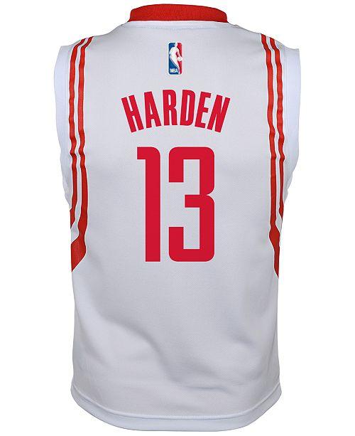 official photos e5b97 87fa0 adidas Kids' James Harden Houston Rockets Revolution 30 ...