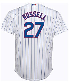 Majestic Kids' Addison Russell Chicago Cubs Replica Jersey, Big Boys (8-20)