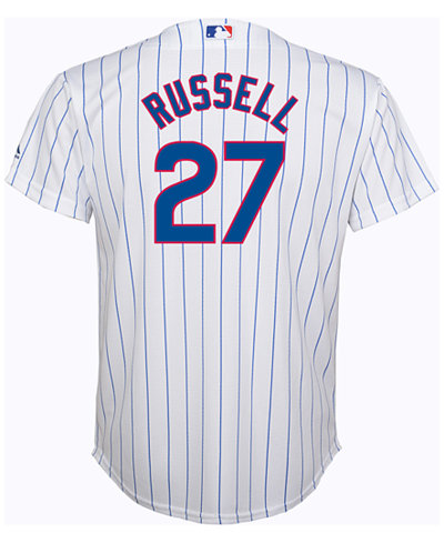 Majestic Kids' Addison Russell Chicago Cubs Replica Jersey