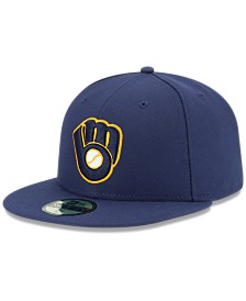 New Era Milwaukee Brewers Authentic Collection 59FIFTY Fitted Cap