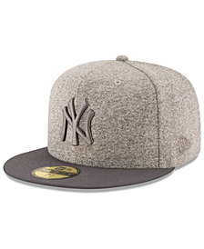New Era New York Yankees Shady Gray 59FIFTY Fitted Cap