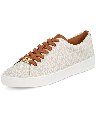 b61e8e89cc538 ... MICHAEL Michael Kors Keaton MK Logo Lace-Up Sneakers MICHAEL Michael  Kors Amanda Trainer Sneakers - Sneakers - Shoes - Macys ...