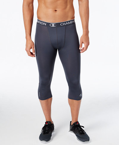Champion Men's PowerFlex Compression Leggings
