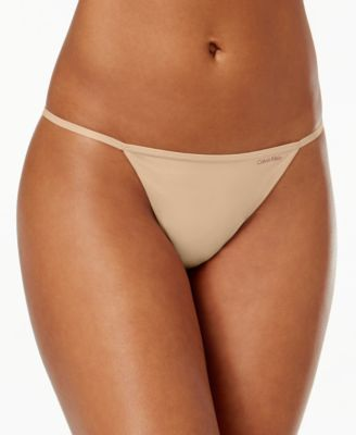 Calvin klein modern cotton bikini white backview large