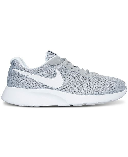 new product fe3d1 88872 Nike Womens Tanjun Casual Sneakers from Finish . ...