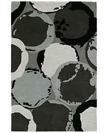 "Macy's Fine Rug Gallery  Aloft AL12 Grey 5'x7'6"" Area Rug"