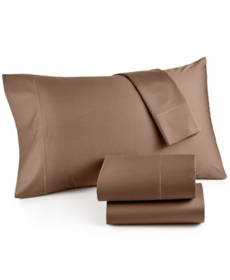 good thread count color hotel collection 4 pc sheet set 525 thread count cotton created