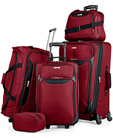 Tag Springfield III 5 Piece Luggage Set, Created for Macy's
