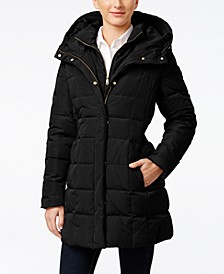 Hooded Down Puffer Coat
