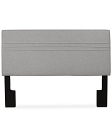 Landry King/California King Upholstered Headboard, Quick Ship