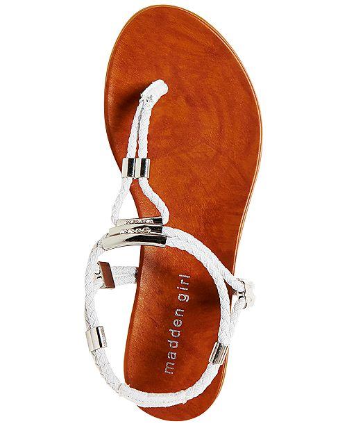 7f19f7d8c Madden Girl Flexii T-Strap Flat Sandals   Reviews - Sandals   Flip ...