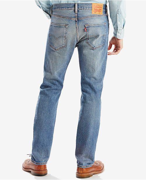 Levis Mens 501 Original Fit Stretch Jeans Jeans Men Macys