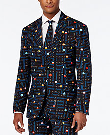 OppoSuits Men's Slim-Fit Pac-Man Suit and Tie
