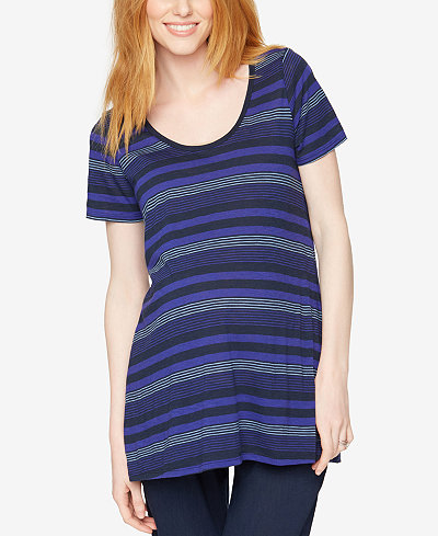 A Pea In The Pod Maternity Striped Tee