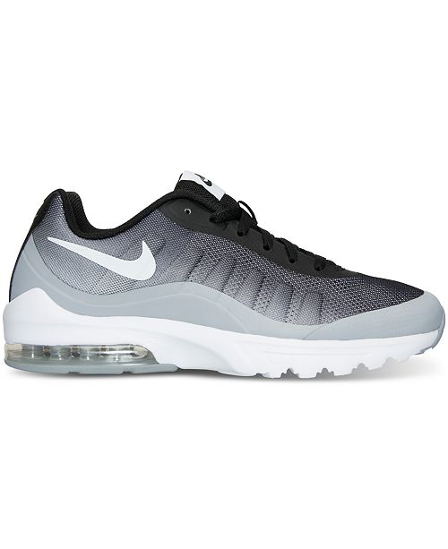 cheaper e2125 198eb ... Nike Men s Air Max Invigor Print Running Sneakers from Finish ...