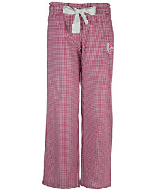 Concepts Sport Women's Louisville Cardinals Tradition Gingham Sleep Pants