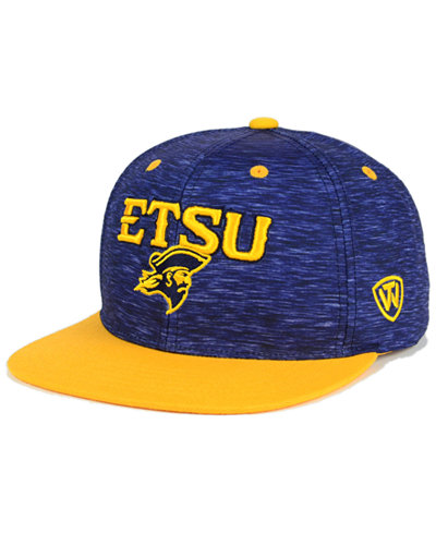 Top of the World East Tennessee State Buccaneers Energy 2-Tone Snapback Cap