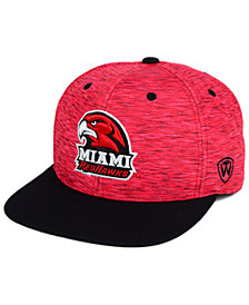 Top of the World Miami RedHawks Energy 2-Tone Snapback Cap
