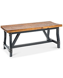 Lancaster Dining Bench, Quick Ship