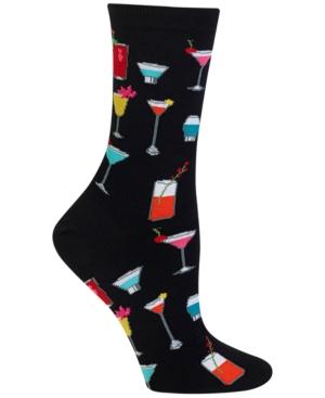 Women's Tropical Drinks Fashion Crew Socks