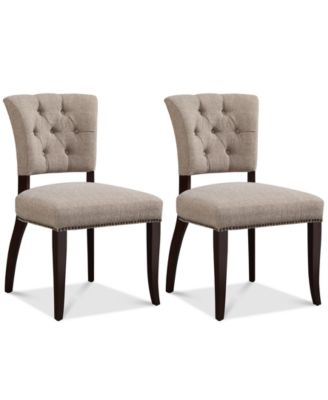 Set of 2 Brooklyn Dining Side Chairs, Quick Ship