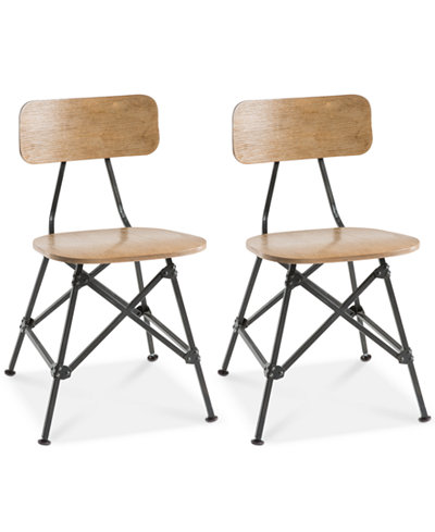 Set of 2 Cooper Dining Chairs, Quick Ship